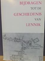 Bijdragen tot de geschiedenis van Lennik - Unknown