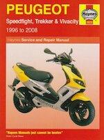 Peugeot Speedfight, Trekker (TKR) and Vivacity Service and R - Phil Mather (ISBN 9781844257720)
