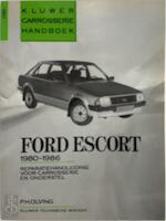 Carrosseriehandboek Ford Escort 1980-86 - P.H. Olving (ISBN 9789020122626)