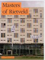 Masters of Rietveld - Mieke Gerritzen (ISBN 9789081165525)