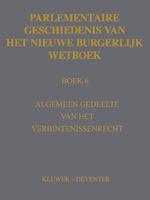 Parlementaire geschiedenis van het nieuwe BW Boek 6 - C.J. van Zeben (ISBN 9789013138191)