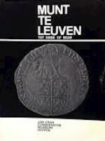 De munt te Leuven tot het einde der XVe eeuw