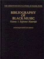 Bibliography of Black Music, Volume 1: Reference Materials