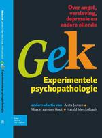 Gek, Experimentele psychopathologie - A. Jansen, Anita Jansen, H.L.J.G. Merckelbach, Harald Merckelbach (ISBN 9789031376391)