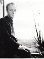 Pierre Alechinsky dans son atelier Paris 1954 [2] - RIEMENS, Henny