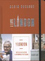 I love London - Alain Ducasse (ISBN 9789059566224)
