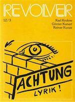 Revolver 12/3 - Günter Kunert, Gerd [red.] EtAl Segers