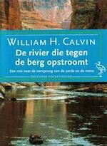 De rivier die tegen de berg opstroomt