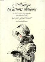 Anthologie historique des lectures érotiques - Jean-Jacques Pauvert (ISBN 9782731301007)