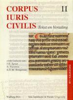 Corpus iuris civilis II Digesten 1-10 (ISBN 9789060119228)