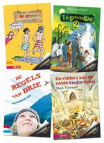 Pakket Zoeklicht Dyslexie Toptitels 2 (ISBN 9789048721504)