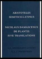 De plantis - Nicolaus Damascenus, E. L. J. Poortman, DROSSAART LULOFS Aristotle (ISBN 9780444857033)