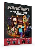 Minecraft Stickerboek de Nether & de End