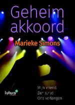 Geheim akkoord - Marieke Simons (ISBN 9789492939104)