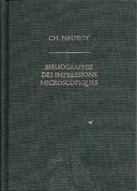 Bibliographie des Impressions Microscopiques - CH. Nauroy