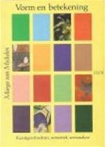 Vorm en betekening - Marga van Mechelen, Julia Amp; Kristeva (ISBN 9789061683896)