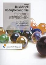 Basisboek bedrijfseconomie-studentenuitwerkingen - Wim Koetzier, Wim Koetzier, Rien Brouwers, Olaf Leppink (ISBN 9789001839130)