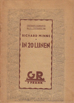 In 20 lijnen - Richard Minne
