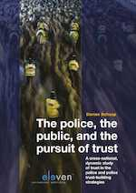 The Police, the Public and the Pursuit of Trust - Dorian Schaap (ISBN 9789462748507)