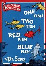 One fish Two fish RED fish BLUE fish - Dr. Seuss (ISBN 9780001713215)