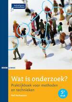 Wat is onderzoek? - Nel Verhoeven (ISBN 9789462363632)