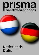 Prisma Handwoordenboek Nederlands-Duits - K. Zaich, Amp, A. Quack (ISBN 9789027490780)
