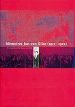 Memoires Jan van Gilse (1917-1922) - Hendrik Dijk (ISBN 9789057302251)