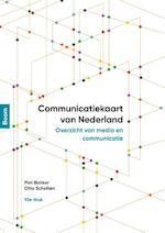 Communicatiekaart van Nederland (tiende druk) - Piet Bakker, Otto Scholten (ISBN 9789024425884)