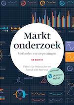Marktonderzoek, 5e editie met MyLab NL toegangscode - Patrick De Pelsmacker, Patrick Van Kenhove (ISBN 9789043036252)
