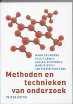 Methoden en technieken van onderzoek - Mark Saunders, Philip Lewis, Adrian Thornhill (ISBN 9789043019293)