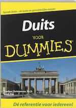 Duits voor Dummies + CD - Paulina Christensen, Amp, Anne Fox (ISBN 9789043006484)