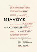 Miavoye - Koen Peeters, Pascal Verbeken, Peter Holvoet-Hanssen, Koen Broucke (ISBN 9789085425908)