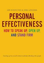 Personal Effectiveness. How to Speak Up, Open Up and Stand Firm - Jan Schouten (ISBN 9789058711113)