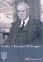 Studies in Empirical Philosophy - John Anderson (ISBN 9781920898175)