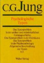 Psychologische Typen - Carl G. Jung (ISBN 9783530407068)