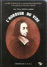L'Horreur du vide - Jean Pierre Fanton D'Andon (ISBN 9782222023555)