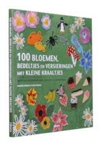 100 Bloemen bedeltjes en versieringen met kleine kraaltjes