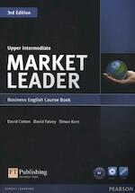 Market Leader Upper Intermediate Coursebook (with DVD-ROM incl. Class Audio) - David Cotton (ISBN 9781408237090)