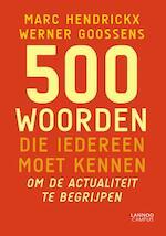 500 woorden die iedereen moet kennen