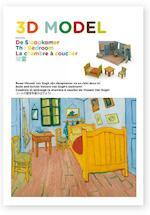 3D model De slaapkamer – The Bedroom – La chambre à coucher