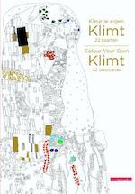 Kleur je eigen Klimt - 22 kaarten/Colour Your Own Klimt - 22 postcards