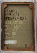 Waarover men niet spreken kan - Stefan Hertmans (ISBN 9789038216263)