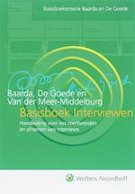 Basisboek Interviewen - D.b. Baarda, M.p.m. De Amp, Goede, A.g.e Van Der Amp, Meer (ISBN 9789001700133)