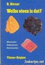 Welke steen is dat? - Rudolf Börner, H. Krul (ISBN 9789003941800)