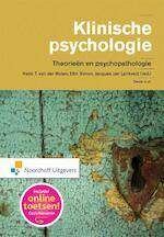 Klinische psychologie - Henk T. van der Molen, Ellin Simon, Jacques van Lankveld (ISBN 9789001846244)
