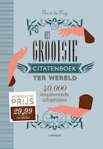 Het grootste citatenboek ter wereld - Gerd De Ley (ISBN 9789401415132)