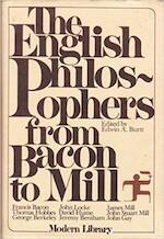 The English philosophers from Bacon to Mill - Edwin Arthur Burtt