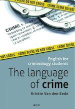 The language of crime