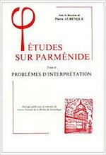 Etudes sur Parmenide - Pierre Aubenque (ISBN 9782711609437)