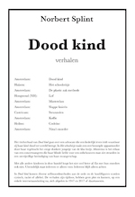 Dood kind - Norbert Splint (ISBN 9789087598082)
